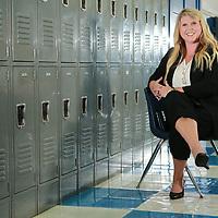 The new Blue Mountain High School principal Bre Anna Heard