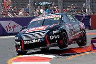 Michael Caruso in the Drive Racing Nissan Ultima during Friday practice at The 2018 Vodafone Supercar Gold Coast 600 in Queensland.