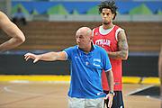 DESCRIZIONE : Trento Primo Trentino Basket Cup Nazionale Italia Maschile <br /> GIOCATORE : Luca Dalmonte<br /> CATEGORIA : allenamento<br /> SQUADRA : Nazionale Italia <br /> EVENTO :  Trento Primo Trentino Basket Cup<br /> GARA : Allenamento<br /> DATA : 27/07/2012 <br /> SPORT : Pallacanestro<br /> AUTORE : Agenzia Ciamillo-Castoria/M.Gregolin<br /> Galleria : FIP Nazionali 2012<br /> Fotonotizia : Trento Primo Trentino Basket Cup Nazionale Italia Maschile<br /> Predefinita :