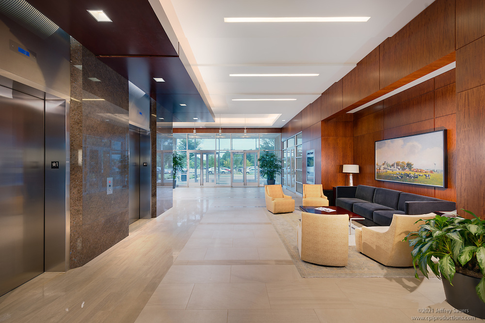 Office interior image of in Maple Lawn Corporate Center in Marylad by Jeffrey Sauers of Commercial Photographics, Architectural Photo Artistry in Washington DC, Virginia to Florida and PA to New England