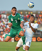 Jordan Ayew (Ghana) vs Faouzi Ghoulam (ALG)