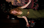 Charlotte Tilbury, Tatler magazine Little Black Book party, Tramp. Jermyn St. 10 November 2004. ONE TIME USE ONLY - DO NOT ARCHIVE  © Copyright Photograph by Dafydd Jones 66 Stockwell Park Rd. London SW9 0DA Tel 020 7733 0108 www.dafjones.com