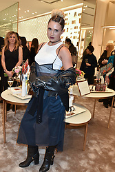 DJ JamieLisa at a party to celebrate the launch of the new Furla Flagship store, 71 Brompton Road, London England. 2 February 2017.