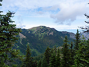 The view from near the Hurricane Ridge site of Olympic National Park, Washington, USA.