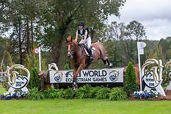 AUFFARTH Sandra (GER), Viamant du Matz<br /> Tryon - FEI World Equestrian Games™ 2018<br /> Vielseitigkeit Teilprüfung Gelände/Cross-Country Team- und Einzelwertung<br /> 15. September 2018<br /> © www.sportfotos-lafrentz.de/Sharon Vandeput