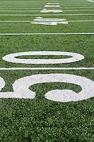 Detail of American Football Field