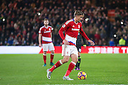 Middlesbrough midfielder Gaston Ramirez (21)  during the Premier League match between Middlesbrough and Chelsea at the Riverside Stadium, Middlesbrough, England on 20 November 2016. Photo by Simon Davies.