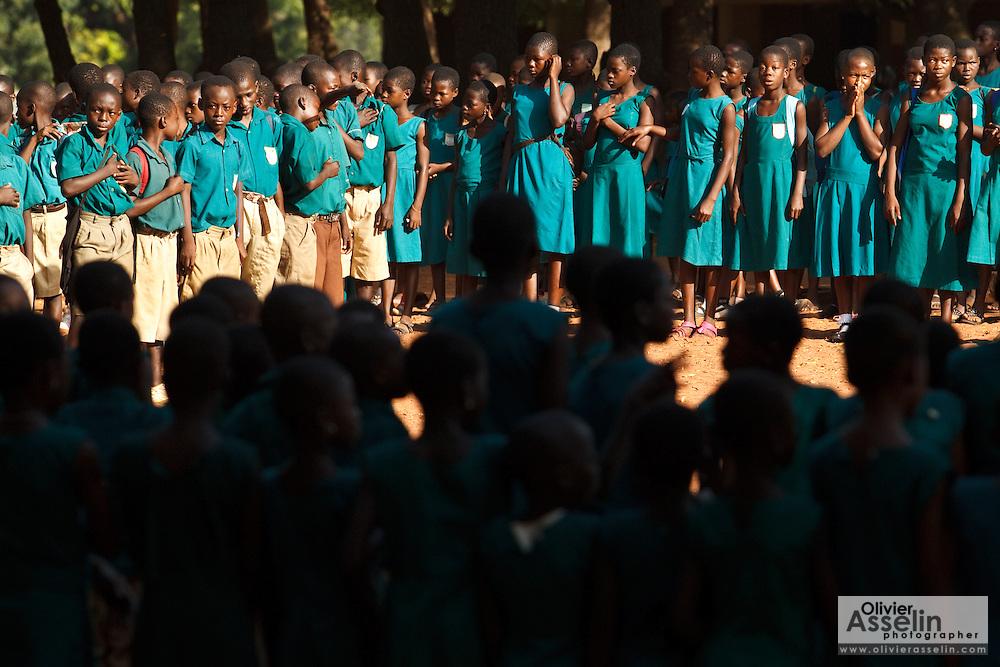 St Joseph's primary school, Tamale, Northern Region, Ghana on Thursday November 3, 2011.