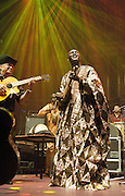 AfroCubism<br /> performing live at The Royal Albert Hall, London, Great Britain <br /> 27th June 2011<br /> <br /> Eliades Ochoa<br /> Bassekou Kouyate<br /> <br /> Photograph by Elliott Franks