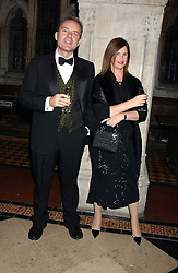 NICOLA HORLICK and MARTIN BAKER at Andy & Patti Wong's annual Chinese New Year party, this year celebrating the year of the dog held at The Royal Courts of Justice, The Strand, London WC2 on 28th January 2006.<br /><br />NON EXCLUSIVE - WORLD RIGHTS