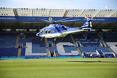 Leicester City owner's helicopter usual flight from pitch, Leicester, 28 October 2018