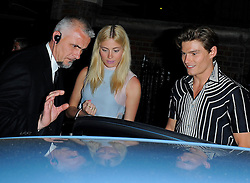 Singer Pixie Lott and model boyfriend Oliver Cheshire leaving the Chiltern Firehouse in Marylebone, London, UK. 30/04/2014<br />BYLINE MUST READ : GOTCHAIMAGES.COM<br /><br />Copyright by © Gotcha Images Ltd. All rights reserved.<br />Usage of this image is conditional upon the acceptance <br />of Gotcha Images Ltd, terms and conditions available at<br />www.gotchaimages.com