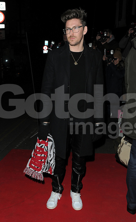 Henry Holland attends the YSL Beauty: YSL Loves Your Lips party at The Boiler House,The Old Truman Brewer in London, UK. 20/01/2015<br /> BYLINE MUST READ : GOTCHAIMAGES.COM<br /> <br /> Copyright by &copy; Gotcha Images Ltd. All rights reserved.<br /> Usage of this image is conditional upon the acceptance <br /> of Gotcha Images Ltd, terms and conditions available at<br /> www.gotchaimages.com
