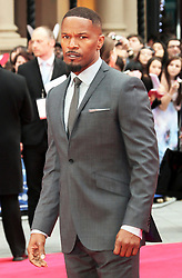 © Licensed to London News Pictures. 10/04/2014, UK. Avi Jamie Foxx, The Amazing Spider-Man 2 - World film premiere, Odeon Leicester Square, London UK, 10 April 2014. Photo credit : Richard Goldschmidt/Piqtured/LNP