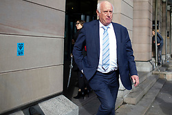 CAPTION CORRECTION MAYSMAN HAS BEEN AMENDED TO MEYSMAN © Licensed to London News Pictures. 15/10/2019. London, UK. Former Chairman of Thomas Cook Frank Meysman departs Portcullis House after appearing in front of a select committee .  Photo credit: George Cracknell Wright/LNP