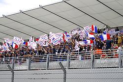 June 24, 2018 - Le Castellet, France - Motorsports: FIA Formula One World Championship 2018, Grand Prix of France, .Fans  (Credit Image: © Hoch Zwei via ZUMA Wire)
