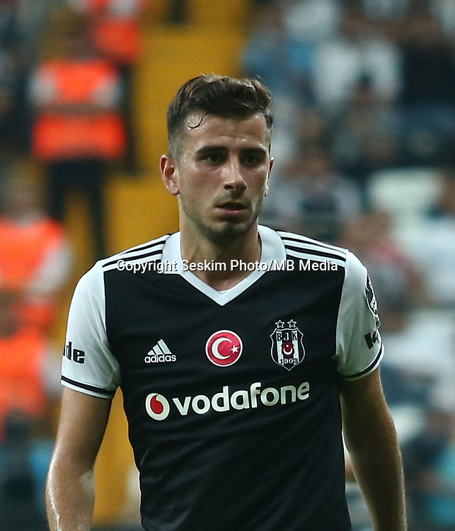Turkey superlig match between Besiktas and Alanyaspor at Vodafone Arena in Istanbul , Turkey on August 20 , 2016.<br /> Final Score : Besiktas 4 - Alanyaspor 1<br /> Pictured: Oguzhan Ozyakup of Besiktas.
