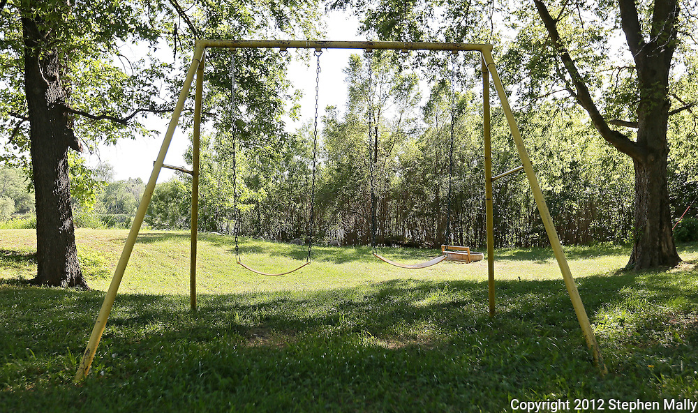 A swing set at a campground near Bertram on Tuesday afternoon, May 29, 2012. (Stephen Mally/Freelance)