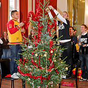 NLD/Amsterdam/20101208 - Skyradio Christmas Tree for Charity 2010, Jeffrey Wammes en Anouk Hoogendijk