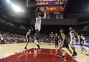 Dec 19, 2017; Los Angeles, CA, USA; Southern California Trojans forward Chimezie Metu (4) dunks the ball against the Princeton Tigers during an NCAA basketball game at Galen Center. Princeton defeated USC 103-93 in overtime.