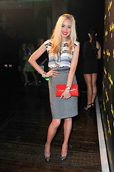 NOELLE RENO at a party to launch the Dom Perignon Luminous label held at No.1 Mayfair, London on 24th May 2011.