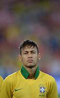 FUSSBALL  INTERNATIONAL  Testspiel Schweiz - Brasilien    14.08.2013 NEYMAR (Brasilien)