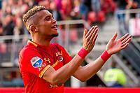 ALKMAAR, 19-05-2017, AZ - FC Groningen,  AFAS Stadion, assist van AZ speler Dabney dos Santos Souza.