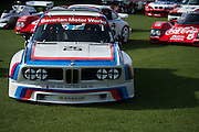 March 11-13, 2016 Amelia Island. BMW touring car driven by Hans-Joachim Stuck