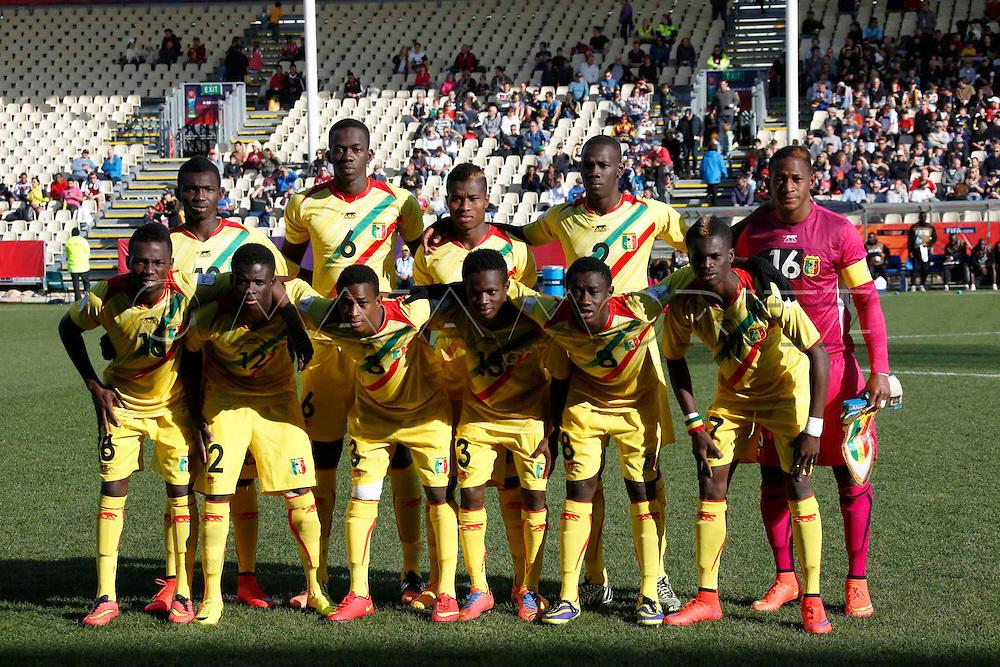 FIFA U20 World Cup New Zealand 2015, 14 June 2015, Christchurch, Mali - Germany, 1:1 (4:3, PSO), Quarterfinal, the Mali team