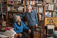 Venezia - Comunità ebraica di Venezia. Amos Luzzatto e Laura Voghera