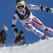 Bernadette Schild, Austria, in action during the Women's Giant Slalom competition at Coronet Peak, New Zealand during the Winter Games. Queenstown, New Zealand, 23rd August 2011. Photo Tim Clayton