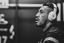 Siale Piutau of Bristol Bears in the changing room prior to kick off - Mandatory by-line: Ryan Hiscott/JMP - 29/09/2018 - RUGBY - Ashton Gate Stadium - Bristol, England - Bristol Bears v Northampton Saints - Gallagher Premiership Rugby