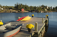 Boat dock, Blue Rocks Nova Scotia
