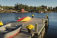Boat dock, Blue Rocks Nova Scotia