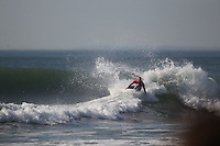SAN FRANCISCO, CA - NOVEMBER 02: Kelly Slater competes in heat 6 of round three of the Rip Curl Pro Search on November 2, 2011 in San Francisco, California. Slater won his heat to win his 11th ASP Men's World Title. (photo by Jed Jacobsohn)