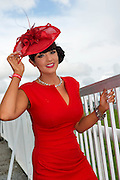 03/08/2012. Ciara Murray from Galway at the Friday evening meeting of the Galway Races. Photo:Andrew Downes