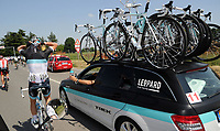 Sykkel<br /> Giro d Italia 2011<br /> Foto: PhotoNews/Digitalsport<br /> NORWAY ONLY<br /> <br /> 09.05.2011  <br /> Giro d Italia. Tredje etappe<br /> <br /> Den belgiske syklisten Wouter Weylandt omkom i et velt <br /> <br /> Rappalo - Italie - wielrennen - cycling - radsport - cyclisme - Giro D'Italia  2011 - 3e etappe Reggio Emilia > Rappalo 173 km  - Wouter Weylamdt (Leopard - Trek)