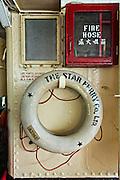 Star Ferry lifesaving ring Hong Kong.