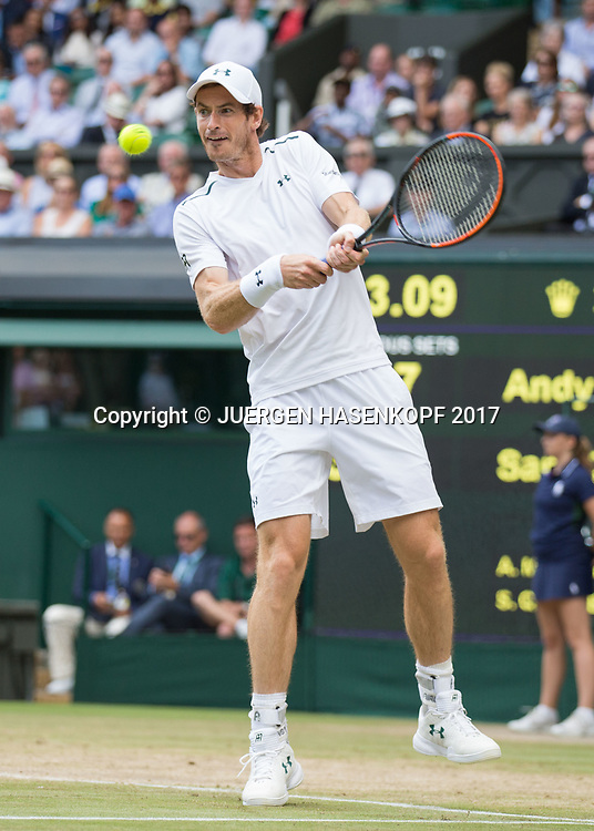 ANDY MURRAY (GBR)<br /> <br /> Tennis - Wimbledon 2017 - Grand Slam ITF / ATP / WTA -  AELTC - London -  - Great Britain  - 12 July 2017.