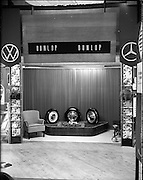 3-5/06/1959.06/3-5/1959.3-5 June 1959.Motor Distributers car exhibition at Mansion House, Dublin.