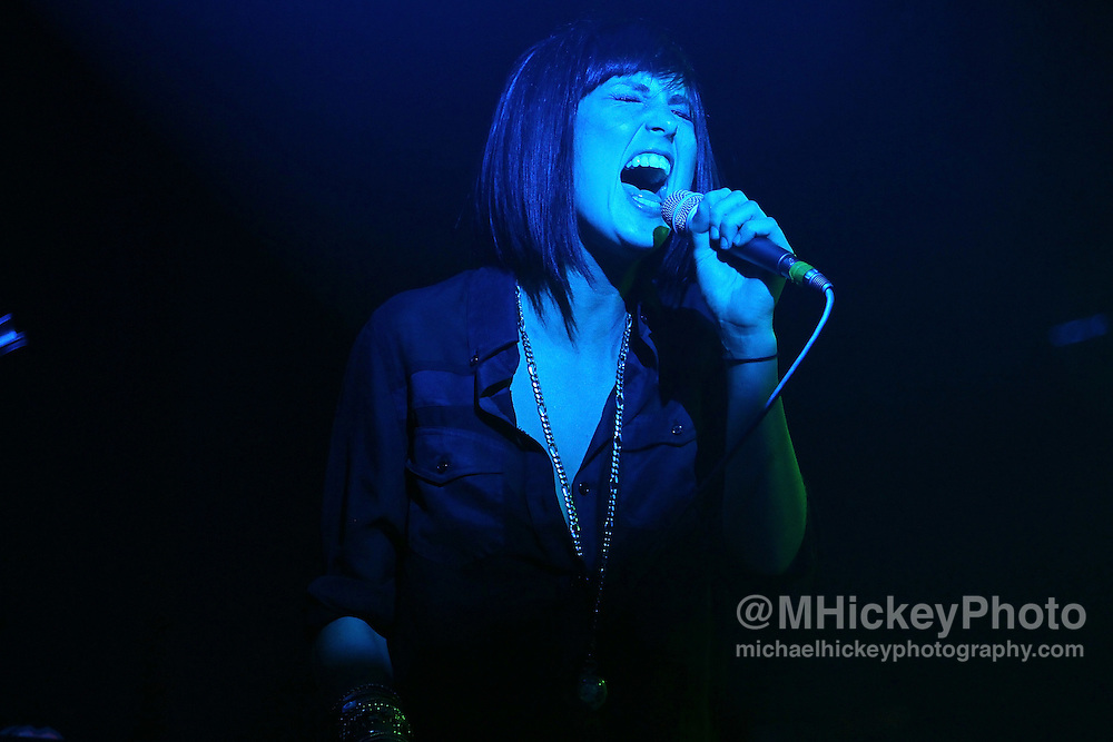 Phantogram performs at the Filter Magazine After Party at the Hard Rock Hotel in Chicago. <br /> <br /> Photo by Michael Hickey