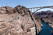 Hoover Dam in Boulder City, Nevada on Sunday, June 29, 2014.