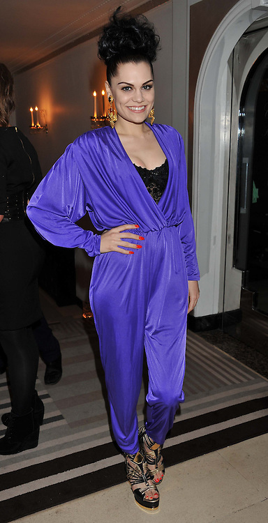JESSIE J at the Harper's Bazaar Women of the Year Awards 2011 held at Claridge's, Brook Street, London on 7th November 2011.