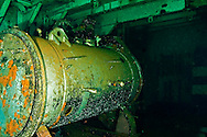Re-compression chamber, USS Kittiwake
