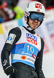 02.03.2019, Seefeld, AUT, FIS Weltmeisterschaften Ski Nordisch, Seefeld 2019, Skisprung, Mixed Team Bewerb, im Bild Andreas Stjernen (NOR) // Andreas Stjernen of Norway during the mixed team competition in ski jumping of nordic combination of FIS Nordic Ski World Championships 2019. Seefeld, Austria on 2019/03/02. EXPA Pictures © 2019, PhotoCredit: EXPA/ JFK