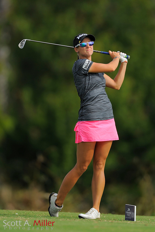 Amy Eneroth during the first round of the Symetra Tour Championship at LPGA International on Sept. 26, 2013 in Daytona Beach, Florida. <br /> <br /> <br /> &copy;2013 Scott A. Miller