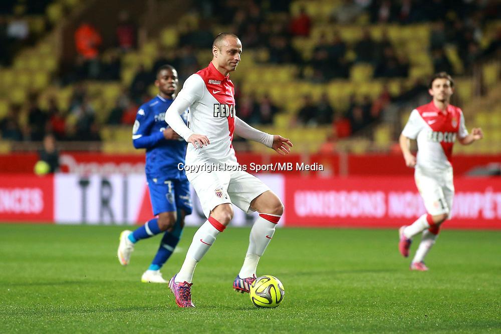 BERBATOV Dimitar - 13.03.2015 -   Monaco / Bastia -  29eme journee de Ligue 1 <br />Photo : Serge Haouzi / Icon Sport