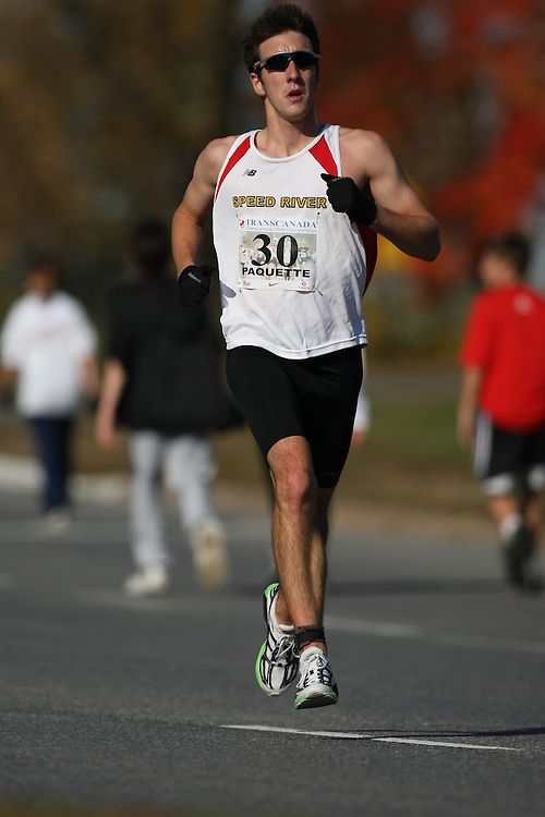 (Ottawa, ON---18 October 2008) MAX PAQUETTE competes in the 2008 TransCanada 10km Canadian Road Race Championships. Photograph copyright Sean Burges/Mundo Sport Images (www.msievents.com).