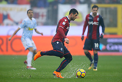 """Foto Filippo Rubin<br /> 03/03/2018 Ferrara (Italia)<br /> Sport Calcio<br /> Spal - Bologna - Campionato di calcio Serie A 2017/2018 - Stadio """"Paolo Mazza""""<br /> Nella foto: BLERIM DZEMAILI  (BOLOGNA)<br /> <br /> Photo by Filippo Rubin<br /> March 03, 2018 Ferrara (Italy)<br /> Sport Soccer<br /> Spal vs Bologna - Italian Football Championship League A 2017/2018 - """"Paolo Mazza"""" Stadium <br /> In the pic: BLERIM DZEMAILI  (BOLOGNA)"""