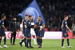 October 7, 2018 - Paris, France - 07 KYLIAN MBAPPE (PSG) - 02 THIAGO SILVA (PSG) - JOIE (Credit Image: © Panoramic via ZUMA Press)